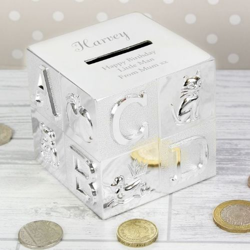 Large Name ABC Money Box